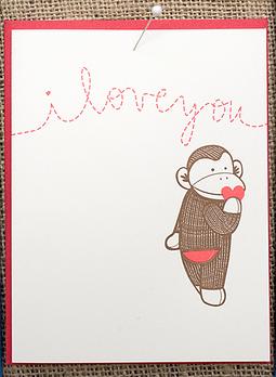 Hello!Lucky Valentine Card