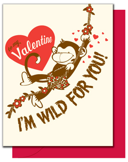Jungle Love Letterpress Card