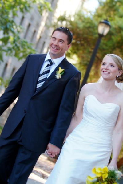 Kelly & Erich Wedding Portrait