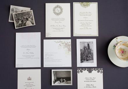 English Wedding Invitations