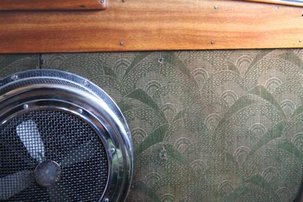 Vintage coach interior