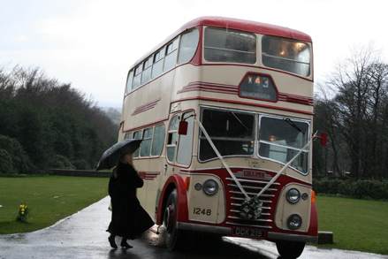 Double decker coach