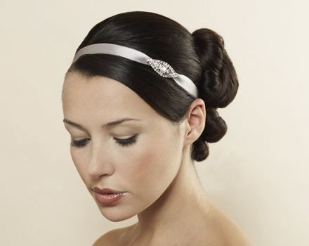 Jennifer Behr Satin Headwrap