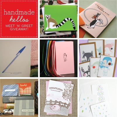 Handmade Hellos Collage