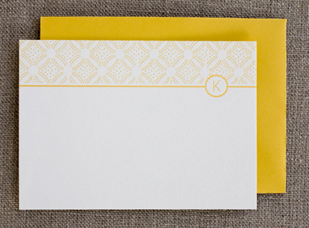 Sophisticate Custom Stationery