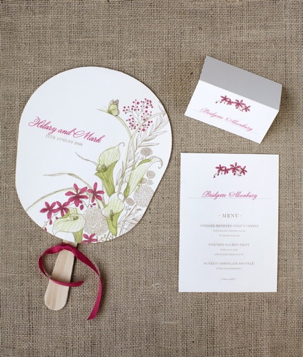 Cala Lily Wedding Invitation