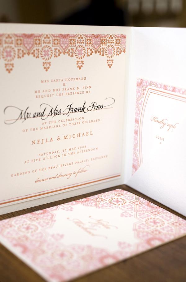 Petra wedding invitations