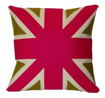 Fuchsia Union Jack
