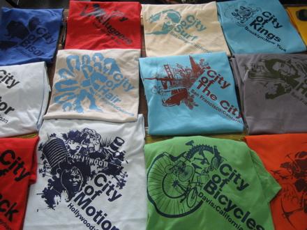 Campfire t-shirts