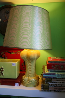 Lamp and cigar boxes