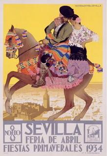 Seville Travel Poster