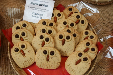 Shortbread Owls