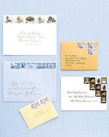 Vintage Stamps Martha Stewart