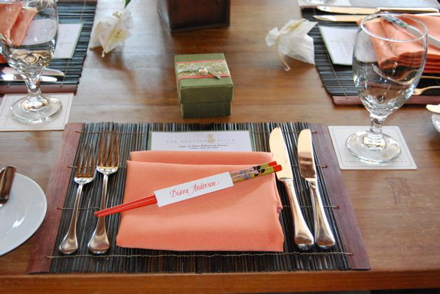 Zeff place setting
