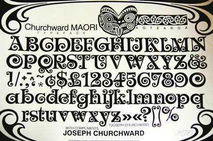 Churchward Maori