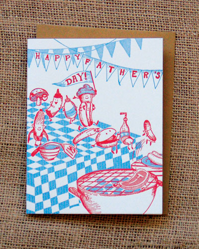 BBQ Father's Day Card by Hello!Lucky