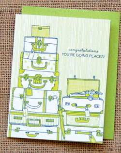 Going Places Julia Rothman Greeting Card