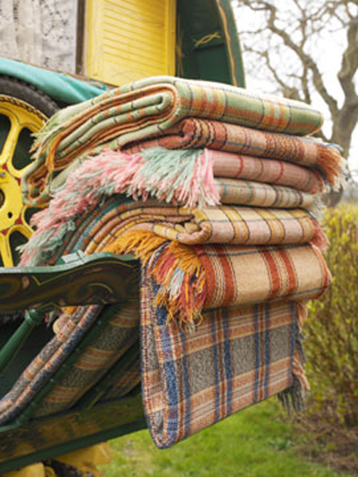 Vintage Scottish Blankets