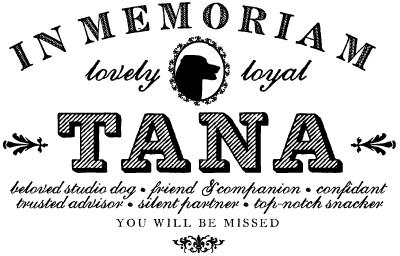 in memoriam of tana