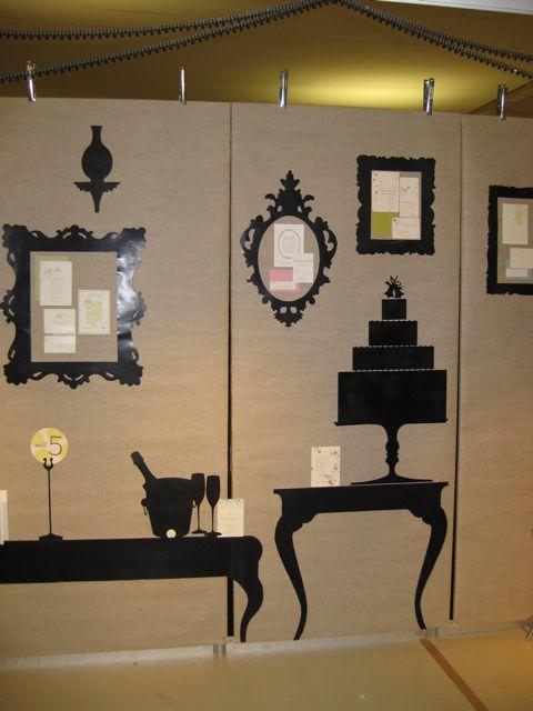 Designer Wedding Show booth