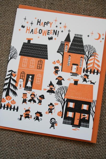 Lab Partners Halloween Card