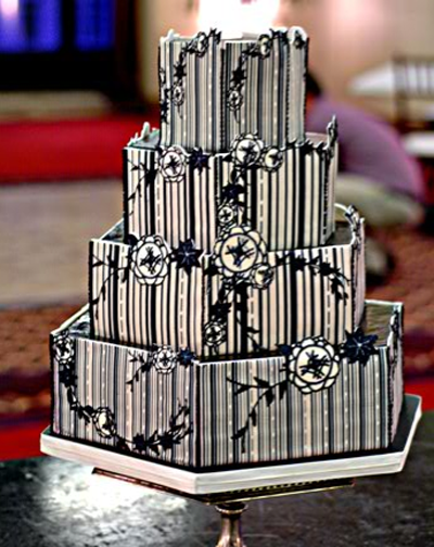 French Deco Cake