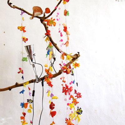 Sophie Culvelier flower garland