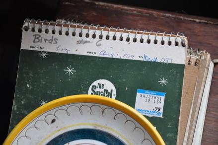 Bird notebooks
