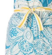 Blue & Yellow detail