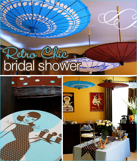 Retro Chic Bridal Shower