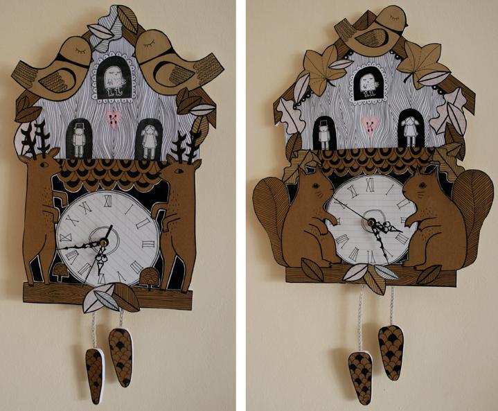 Kate Sutton Cuckoo Clocks