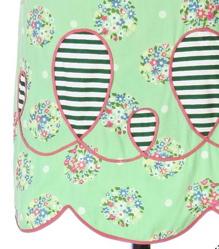 Green stripe detail