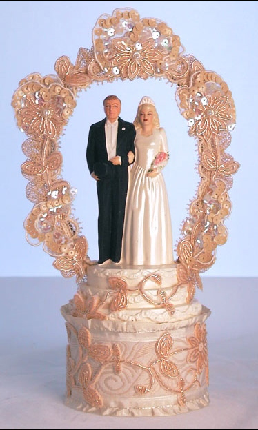 Hollywood Glamour Cake Topper