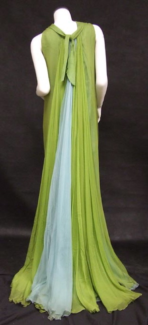 Sarni Evening Gown Back