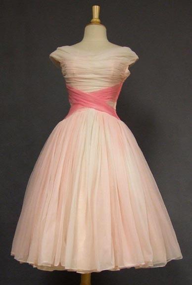 Vintageous Pink Dress