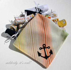 Anchor Hankerchief