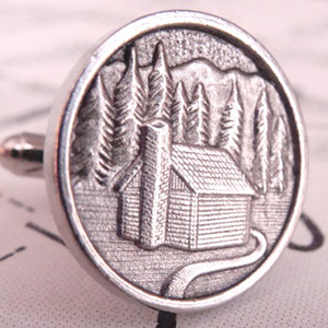 Cabin in the Woods Cufflinks
