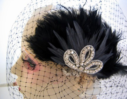 Oh So Flirty Fascinator