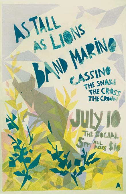 Band Marino Poster