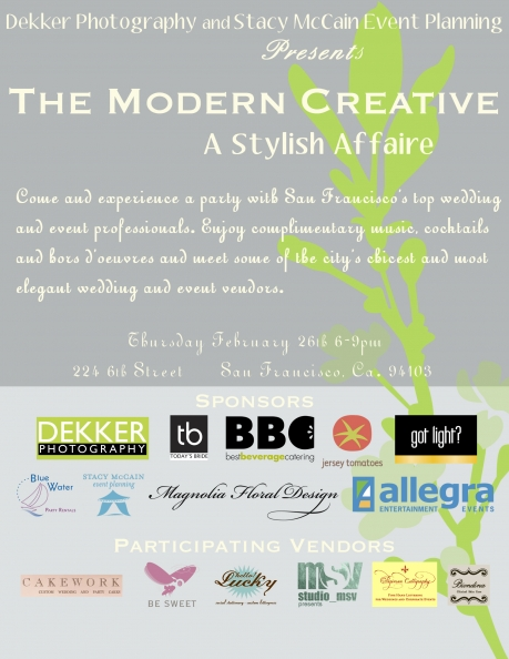 Modern Creative Bridal Fair