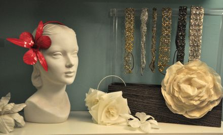 Mannequin and headbands