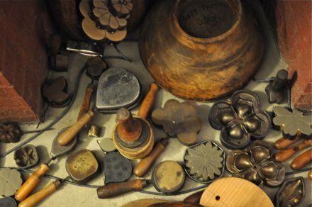 Vintage millinery tools