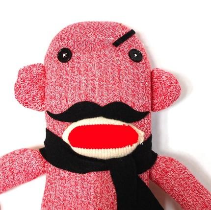 mischevious mustache monkey