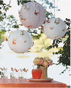 Butterfly lanterns MSW