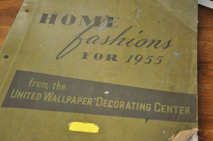 Home Fashions for 1955