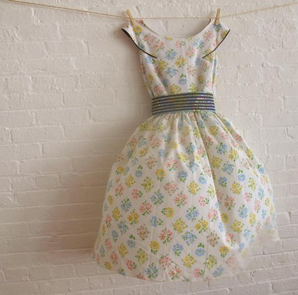 Soho Mode Tea Dress Small Print