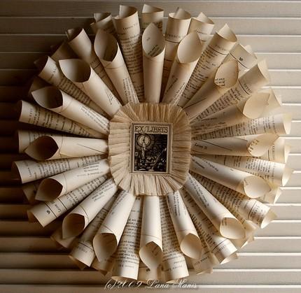 Vintage Ivory Wreath