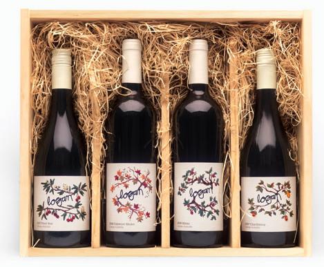 Logan Wine Bottle Box
