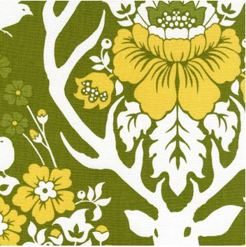 Woodland Damask Pattern