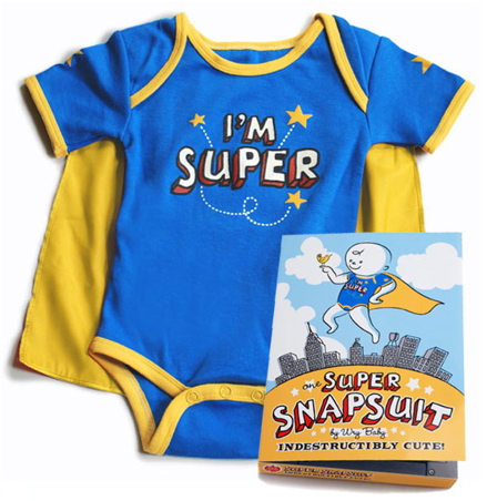Wry Baby Super SnapSuit
